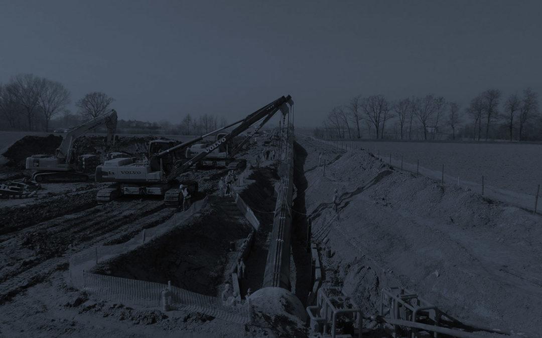 """Poggio Renatico – Cremona"""" DN 1200 (48″) gas pipeline – Topographic Services"""