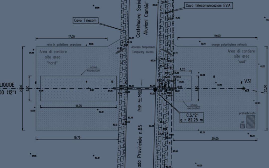"""Renovation of """"Milan-Genoa"""" oxygen pipeline crossing DN 300 (12″)"""